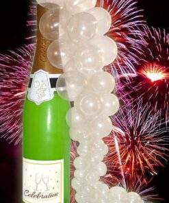 Inflatable Champagne Bottles