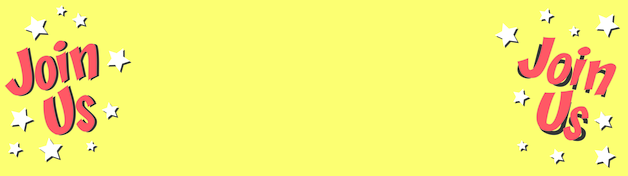 Yellow Join Us Personalised Banner