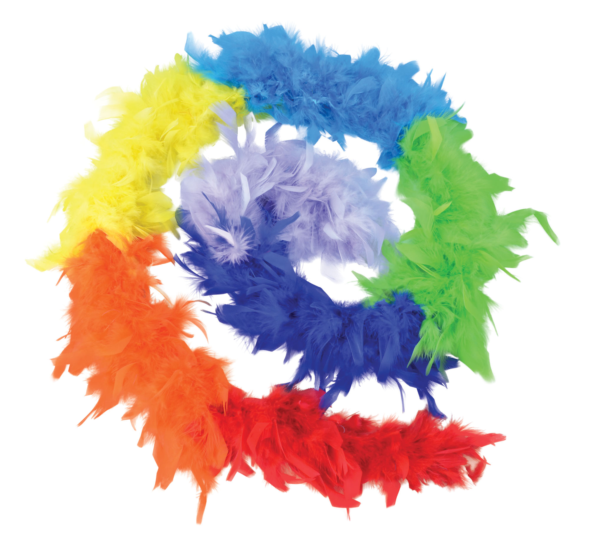 Feather Boa Rainbow