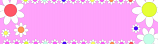 Pink Flowers Personalised Banner