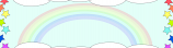 Rainbows And Stars Personalised Banner