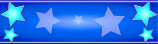 Royal Blue and Light Blue Star Personalised Banner