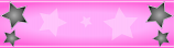 Pink and Black Star Personalised Banner