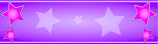 Purple and Pink Star Personalised Banner
