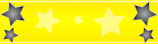 Yellow and Black Star Personalised Banner