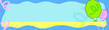 Blue Waves Personalised Banner
