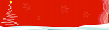 Christmas Red Personalised Banner