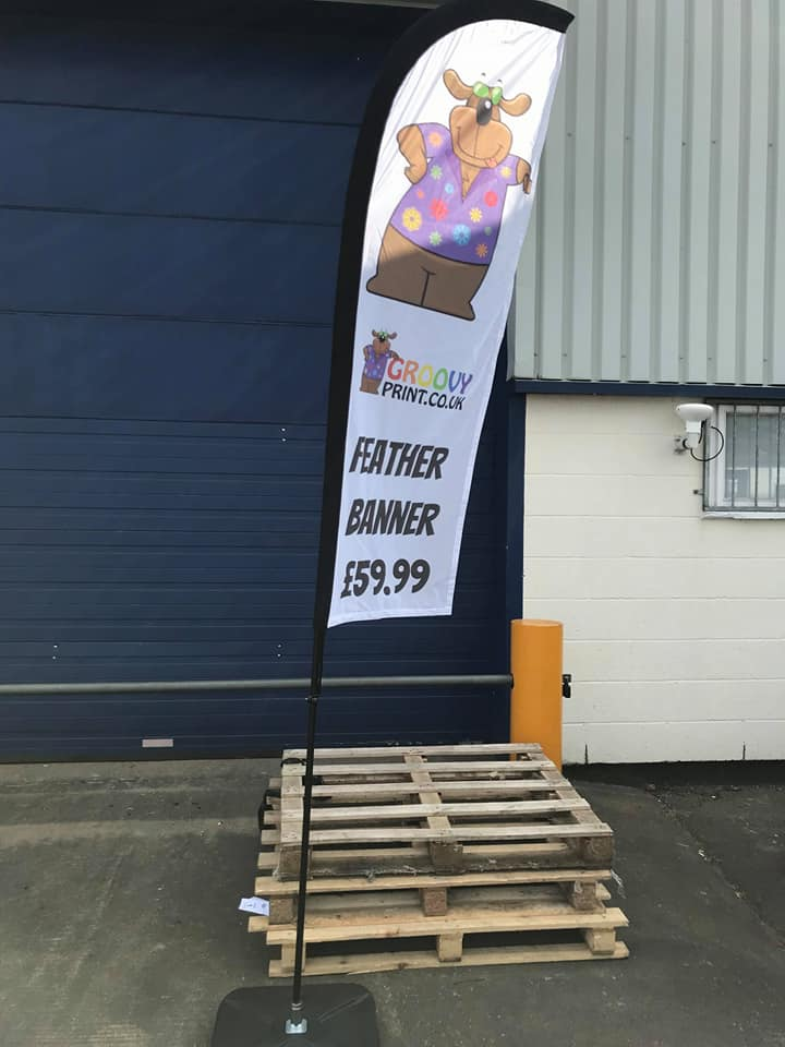 Superior Quality Feather Banners